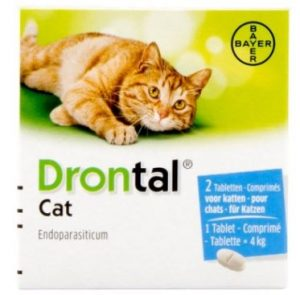 Drontal Cat ontwormingstabletten