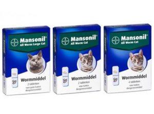Mansonil ontwormingsmiddel