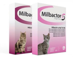 Milbactor ontwormingsmiddel
