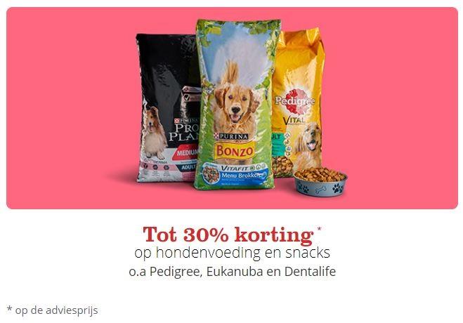 bol.com actie hondenvoeding