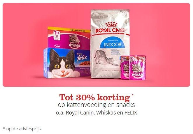 bol.com actie kattenvoeding