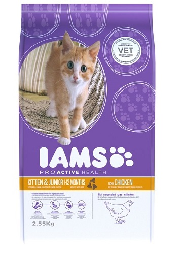 iams kitten junior kip