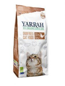 Yarrah graanvrij biologisch kattenvoer